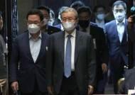 """[단독] 통합당 새 당명 발표 미룬다···""""물난리 속 수해복구 우선"""""""