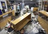 美시카고 번화가 '환상의 1마일'서 대규모 폭동·약탈…<!HS>총격<!HE>전도