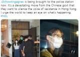 '우산 상징' 아그네스 차우도 체포···현실된 홍콩보안법 공포