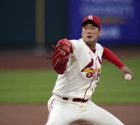 '6이닝 무실점' 김광현, 우여곡절 끝에 MLB 첫 승
