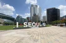 [서소문사진관] 23일 정오 텅빈 서울 도심, 코로나 19 대확산의 긴장감만 가득