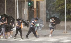 목포 인근 해상까지 올라온 태풍 '바비', 시속 30㎞로 북상 중
