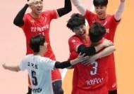 러셀-박철우 쌍포 51점… 프로배구 한국전력 컵대회 우승