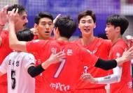 '러셀+박철우 쌍포 51점 합작' 한국전력, 대한항공 꺾고 3번째 우승