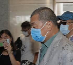 <!HS>홍콩<!HE> 법원<!HS>,<!HE> '지오다노' 지미 라이 협박 혐의에 무죄 선고