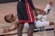 '아데토쿤보 부상' NBA 밀워키, 3연패 뒤 첫 승