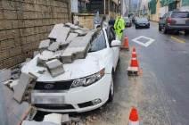 [서소문사진관]강한 비바람 태풍 하이선···침수·산사태·원전도 정지