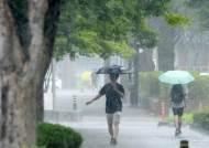 """""""우산 챙기세요"""" 전국 흐리고 비…낮 최고 27도"""