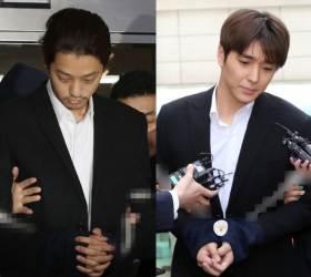 '집단 <!HS>성폭행<!HE>' 정준영ㆍ최종훈 오늘 대법 선고