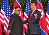 김정은, 트럼프 재선에 베팅했다…확진 하루만에 위로 친서