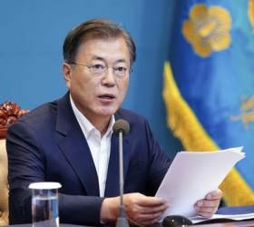 """'<!HS>재인<!HE>산성' 논란 속…文 """"개천절 불법집회, 빈틈없이 차단했다"""""""