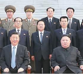[사진] 조연준, <!HS>시진핑<!HE> 방북 때도 배석