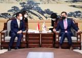 박남춘 인천시장·에릭 테오 주한 싱가포르 대사, 상호 우호 협력 노력