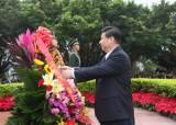 '저만소 비행체' 막아라, 경호원들 시진핑 머리위만 지켜본다