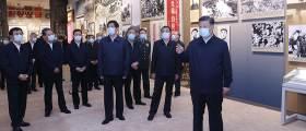 """<!HS>시진핑<!HE>, 中지도부 총출동한 자리서 """"항미원조 전쟁 승리는 정의의 승리"""""""