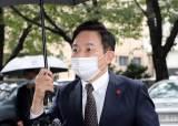 """원희룡, 선거법 위반 혐의 첫 재판 출석…""""법정 판단 받겠다"""""""