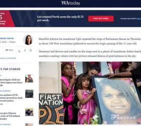 호주 11세 소녀, <!HS>성폭행<!HE> 그놈 보석 풀려난날 목숨 끊었다