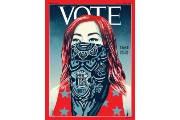 'TIME' 제호 자리에 'VOTE'…창간 97년만에 처음