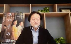 """일본 전쟁범죄 다룬 '스파이의 아내' 구로사와 감독 """"엄청난 각오·용기 필요하진 않았다"""""""