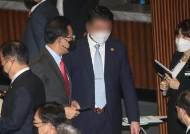 """김기현 """"주호영 몸수색, 야당을 뭘로···국회를 졸로 본 것"""""""