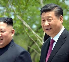 """<!HS>시진핑<!HE>, 김정은에 답전 """"두 나라 친선 더욱 굳건해지고 있다"""""""