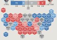 경합주 6곳 중 2곳 바이든 우세, 3곳 오차범위, 1곳 혼전