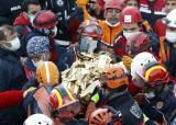85명 숨진 터키 강진…3살 아이 사흘 만에 잔해 속에서 구조
