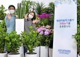 정의선 회장, 플라워버킷챌린지 동참… 이동국 선수 지명
