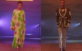 """""""강렬한 매력"""" 한국 갓에 빠져 패션쇼에 올린 영국 디자이너"""