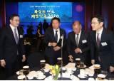 4대 그룹 총수 두달만에 회동···맏형 최태원 주선, 이재용 위로