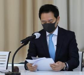 """장성민 """"바이든이 간직한 DJ 넥타이, 내가 생신선물 드린 것"""""""