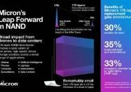 삼성보다 앞섰다…미국 마이크론, 176단 낸드 양산 발표