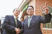 일본 간 박지원, 자민당에 '한·일 정상 공동선언' 제안