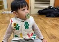 '장신영♥' 강경준, 귀요미 아들 자랑 '인형이 따로없네'