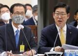 尹 지지율 1위 날···빈틈 노린 충청 양승조, 강원 최문순 돌격