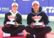 이덕희-한나래, 한국테니스선수권대회 남녀 단식 정상