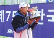 이덕희·한나래, 한국테니스선수권 남녀 단식 우승