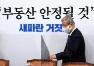 """24번째 대책 발표날, 김종인 """"이낙연 '호텔 찬스'로 혹세무민"""""""