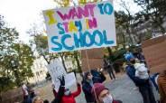 """""""감염자 급증에 급증"""" 경고 속 美뉴욕시 등교 재개…""""학교가 더 안전"""""""