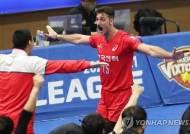 한국전력 러셀-GS칼텍스 러츠, 프로배구 2라운드 MVP