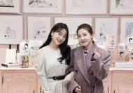 """산다라박, 레드벨벳 예리와 SM 나들이 인증샷 """"2부 기대 부탁"""""""