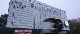 '메이저 대회' <!HS>US<!HE>여자<!HS>오픈<!HE> 골프, 악천후로 최종 라운드 일정 하루 연기