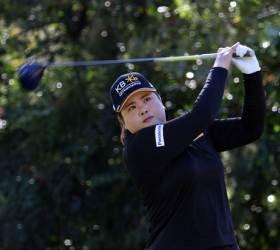 <!HS>LPGA<!HE> 최종전 첫날부터 대결...각오가 같은 듯 달랐던 박인비-김세영