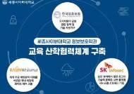 세종사이버대학교 정보보호학과, 한국암호포럼·SK인포섹·라온화이트햇과 교육 산학협력체계 구축