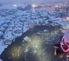 <!HS>싱크홀<!HE>에 집 통째로 빨려 들어갔다, 노르웨이서 11명 실종