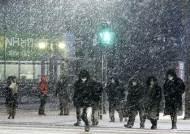 기습 폭설에 혼쭐났던 서울...오늘 퇴근길 또 눈 퍼붓는다