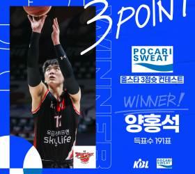 <!HS>프로농구<!HE> 올스타 '랜선 경연' KT 독식…양홍석 3점, 김영환 덩크