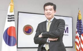 """주한 美상의 회장 """"한국 경쟁력, 일본보다 월등···바이든 시대가 기회"""""""