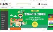 코로나 터지자 온라인 '대박'…괴산 쇼핑몰 1년새 매출 2.5배 껑충