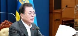 文, 강경화 교체 후임 외교장관에 정의용